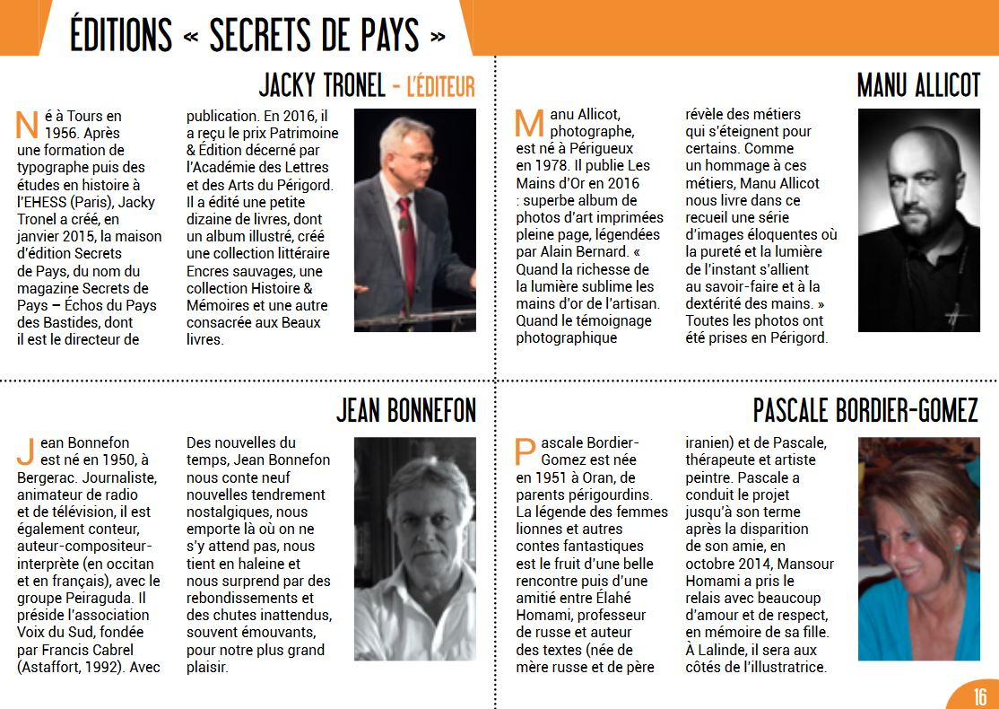 Editions secrets de pays n1