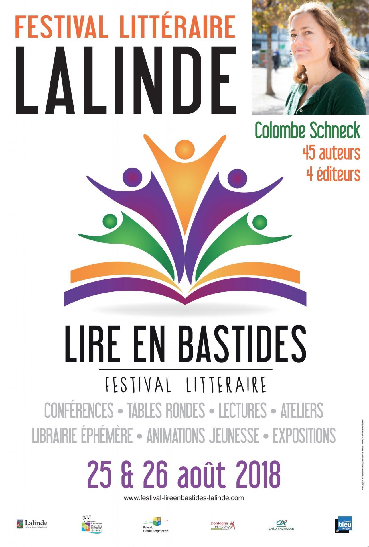Festival litteraire de lalinde 2018