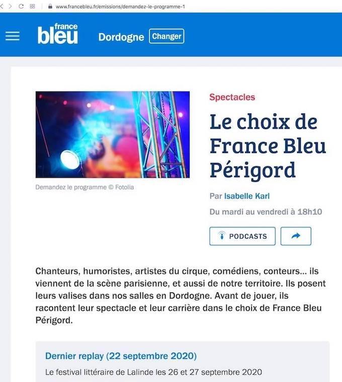 Presse france bleu